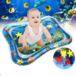 New 66x50cm Inflatable Baby Water Play Mat Infants Swimming Air Mattress Toddlers Fun Tummy Time Activity Tools