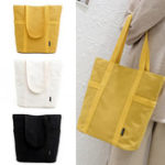 New Women Canvas Handbag Shoulder Bag Beach Travel Tote Grocery Shopping Storage Pouch