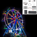 New Blocks Accessories Decor LED Light Kit For LEGO Ferris Wheel 10247 Without Bricks Model Toys