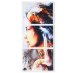 New 3Pcs/Set Modern Unframed Canvas Print Painting Poster Wall Art Picture Home Decorations