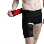 New Men and Women Groin Support Brace Adjustable Wrap