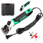 New 220V 850W 50/60Hz Sheep Electric Hair Clipper 6 Adjustable Speed Farm Sheep Electric Shearing Farm Machine Wool Clipper Set