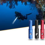 New Brinyte DIV12S Diving Flashlight 1050 Lumens 3 Modes 18650 Battery IPX8 Waterproof LED Lamp Camping Hunting Torch Light
