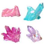 New Clear Quartz Cluster Mineral Specimen Crystal Healing Natural Home Decorations