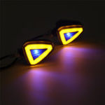 New Pair 12V 10W Universal Motorcycle LED Turn Signal lights Indicator Blinker