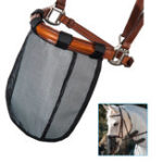 New Mesh Horse Nose Mask Breathable Detachable Fly Mask Mosquito Proof Horse Face Cover Equestrian Supplies