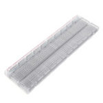 New 730 Holes Transparent Breadboard Protoboard DIY Kit Universal PCB Circuit Board Solderless