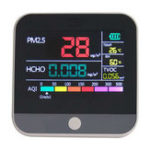 New Digital Air Quality Monitor Hcho Pm2.5 Detector Tester Home Gas Monitor/Gas Analyzer/Temperature Humidity Meter Diagnostic Tool
