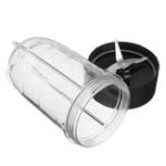 New Cross Blade and Cup Combo for Magic Bullet Blender Includes Blade Gear & Gasket Replacement Accessories