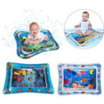 New PVC Inflatable Water Cushion Baby Kids Tummy Water Play Fun Toys Ice Mat Pad