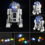 New Blocks Accessories LED Light Kit For LEGO 10225 Star Wars R2D2 Robot Bricks Decor Toys