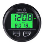 New 60mm GPS Speedometer Gauge Odometer LCD Digital Dust-Proof Kmh For Car Motorcycle ATV Marine Boat Truck