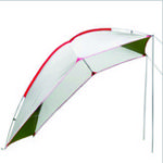 New 5-8 People Outdoor Portable Car Tail Tent Waterproof Canopy Awning Sunshade Camping Travel