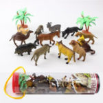 New 12pcs/set Dinosaur Ocean Wild Farm Animals Model Kids Figure Collection Toys
