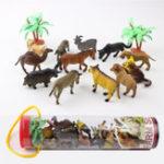 New 12pcs/set Dinosaur Ocean Wild Farm Animals Model Kids Figure Collection Toys