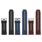 New LOKMAT 25mm TPU Watch Band Universal Sport Watch Strap Replacement for LOKMAT Smart Watch