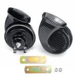 New 12V Horn Air Twin Snail Set Siren Loud Dual Two Tone Fittings Truck Van Boat