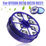 New Washable Pre Post Motor Filters Replace For DYSON DC19 DC20 DC21 Vacuum Cleaner