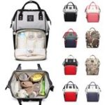 New 16L Mummy Backpack Baby Nappy Diaper Bag Large Capacity Storage Pouch Outdoor Travel