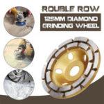 New 125mm Diamond Concrete Grinding Cup Wheel Disc Segment Masonry Granite Stone Grinding Wheel