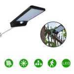 New 36LED Garden Solar Powered Wall Light Waterproof PIR Motion Sensor Walkway Outdoor Lamp