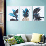 New Nordic Modern Print Plant Green Leaf Art Posters Wall Canvas Paintings Unframed Decorations