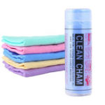 New Magic Synthetic Deerskin PVA Chamois Car Cleaning Cham Washing Cloths Towel Super Absorption