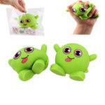 New Green Monster Stretch Stress Relief Fidget Reliever Soft Squishy Toy