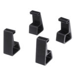 New Heat Dissipation Damping Wall Bracket Stand Feet for Sony Playstation4 PS4 Pro Slim Game Console