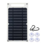 New 6V 10W 1.5A Portable Monocrystalline Solar Panel Slim & Light USB Charger Charging Power Bank Pad