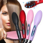 New Hair Brush Straightening Brush Hair Straightener Anion