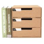 New A4 Paper Desktop Parts Storage Box Student File Cabinet Storage Consolidation Box Multi-layer Drawer Storage Cabinet
