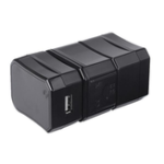 New 3-in-1 TR-193U Conversion Plug Boxed Multi-function Travel Adapter Plug Battery Charger