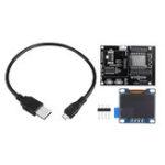 New ESP8266 IoT Development Board +Yellow Blue OLED Display SDK Programming Wifi Module Small System Board