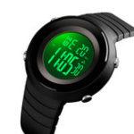 New SKMEI 1507 5ATM Waterproof Stopwatch Sports Digital Watch