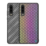 New NILLKIN Woven Polyester Mesh Reflective Anti-fingerprint Protective Case for HUAWEI P30 2019