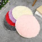 New Non-Slip Bath Bedroom Shower Round Mat Rug Soft Plush Carpet