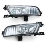 New Pair Car Fog Lights L&R Grill Lamp Bulb Harness Switch Kit For Honda CR-V CRV 15-16