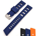 New Bakeey 20/22mm Silicone Watch Band Breathable Sport Watch Strap
