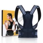 New Back Posture Corrector Adjustable Back Brace Shoulder Posture Correction Lumbar Waist Support Belt Pain Relief