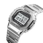 New SKMEI 1456 LED Chronograph Countdown Men Digital Watch
