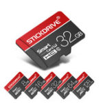 New StickDrive 8GB 16GB 32GB 64GB 128GB Class 10 High Speed TF Memory Card With Card Adapter For Mobile Phone iPhone Samsung Huawei Xiaomi
