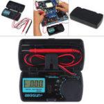 New ALL SUN EM3081 Digital Multimeter 3 1/2 1999 AC/DC Ammeter Voltmeter Ohm Portable Meter Voltage Meter