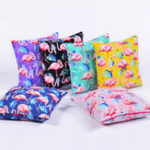 New 45*45 cm Flamingo Cotton Linen Cushion Cover Home Pillow Decor Soft Sofa Car Bedding Pillowcase