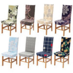 New Dining Room Wedding Banquet Chair Covers Party Decor Seat Cover Stretch Spandex