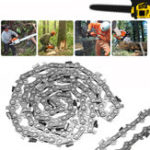 "New Garden Wood Cutting Alloy Chainsaw Chain Saws Part 52 Link Bar 14"" 3/8 x 0.050 LP Blade"