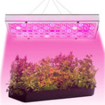 New 25W 75 LED Plant Grow Light Lamp Full Spectrum For Flower Seeds Greenhouse Indoor