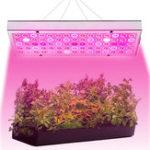 New 25W 75 LED Plant Grow Light Lamp Full Spectrum For Flower Seeds Greenhouse Indoor