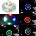 New 13 Mode Solar Energy LED Light Motorcycle Car Auto Flash Wheel Tire Valve Cap Neon Lamp