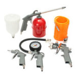 New 5-piece Set Of Pneumatic Sprayer Paint Tool Spraying Spray G un Set